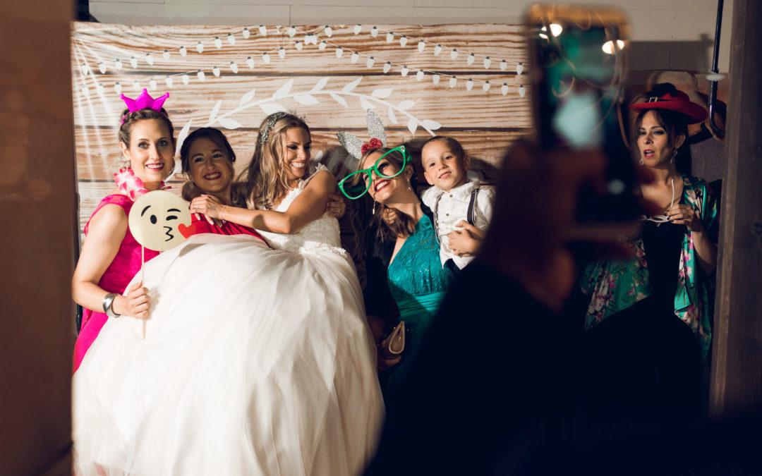 ¿Contar con fotomatón en la boda?