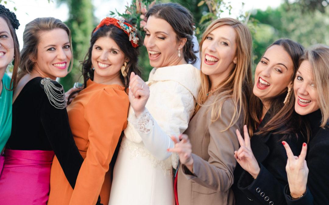 ¿Fotos de boda con invitados? Sí o no