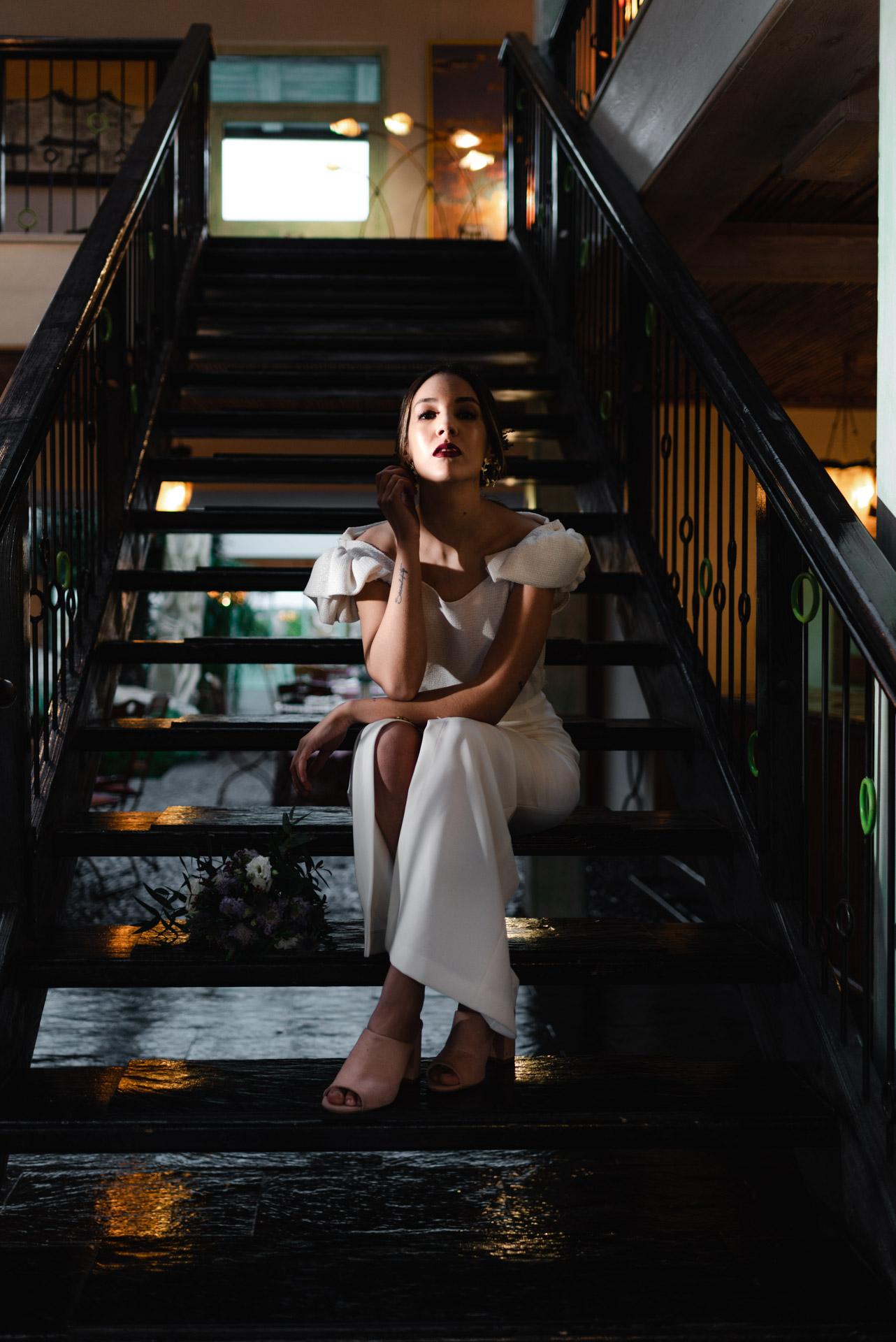 Editorial de boda en la Casa Verde de Torrelodones - Crazy Love Shots - Fotógrafo de boda Madrid - Pipa Comunicación - Lamaryé - Piropo Jewels - Tocados Mariana - Desmarkarte - Green Collective - Bamboleo Quiero - Momento para el Chachachá