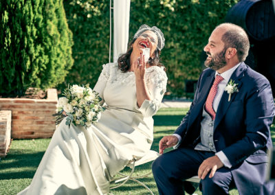 Boda en Bodegas Viñasoro – La boda de Vicky y Jose
